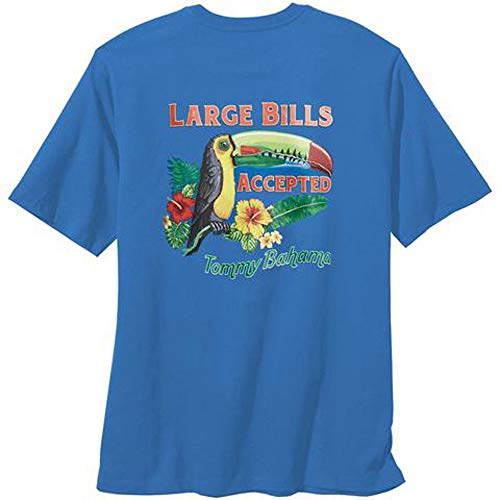 Tommy Bahama Large Bills Accepted Large Cobalt T Shirt -