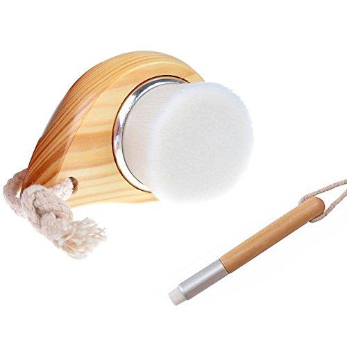 Vococal Facial Pore Cleansing Nettoyage Gommage Doux Fiber Brush Maquillage de La Peau Outil de Soins de Beauté
