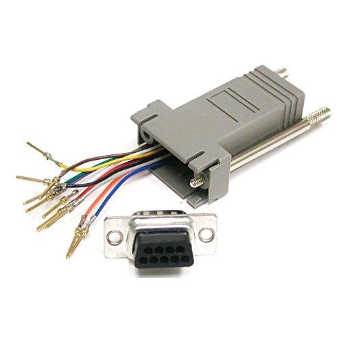 CABLESTOGO Cables to Go 81554 Modularadapter (10-polig, RJ-45 auf DB9-Buchse) - Rj 45-db9