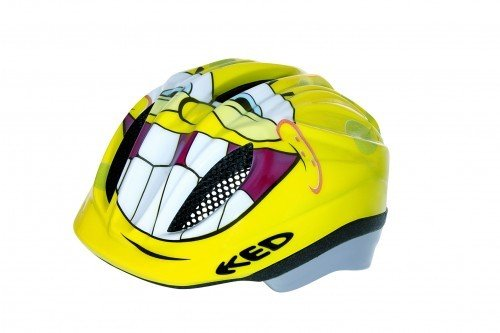 KED Kinder-Fahrradhelm Meggy Lizenz S 46 - 52 cm Sponge Bob