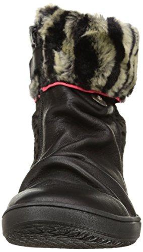 Catimini Corbin, Bottes Classiques fille Noir (Vtc Noir/Fushia Dpf/Mazda)