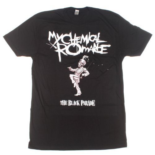 My Chemical Romance Black Parade maglietta (Nero) Large