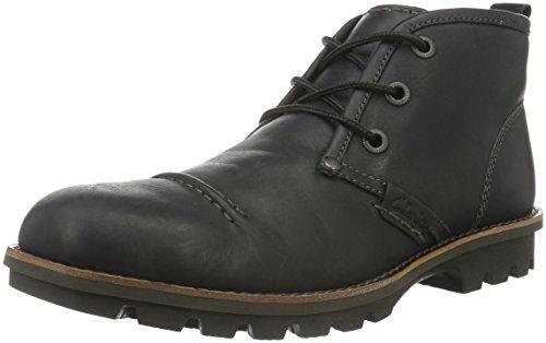 Clarks Rapple Fall, Boots homme Noir (Black WLined Lea)