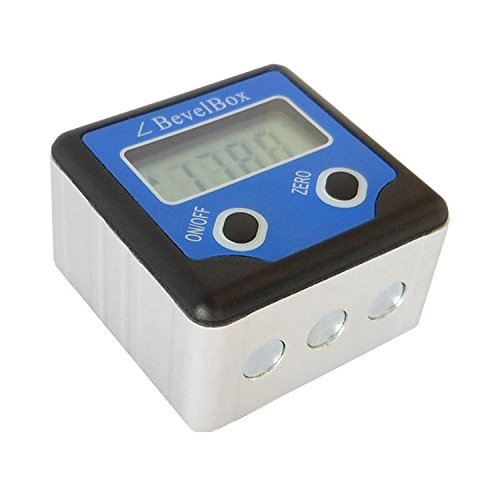 Digital Pitch Gauge (Micro Screw Pitch Gauge Meter Electronic inclinometer digital gauge angle point scale box for RC helicopter airplane TLB-02)