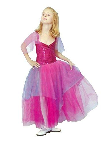 Islander Fashions Pailletten Ballerina M�dchen Kost�m Kinder Disney Prinzessin Ballett Tanz Kost�m 7-9 Jahre (Disney Prinzessin Ballett Kleid)