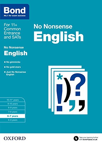 Bond: English: No Nonsense: 6-7 years