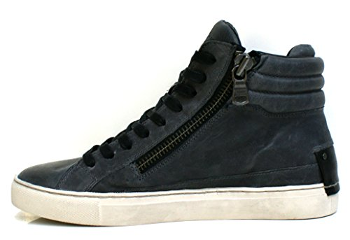 Crime London 11141A16B - Chaussures Baskets Homme à lacets Gris