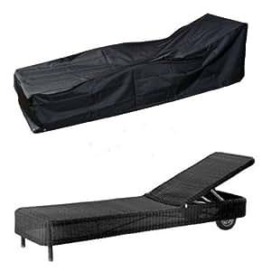 hbcollection deluxe polyester schutzh lle schutz plane f r gartenliege liegestuhl 220cm. Black Bedroom Furniture Sets. Home Design Ideas