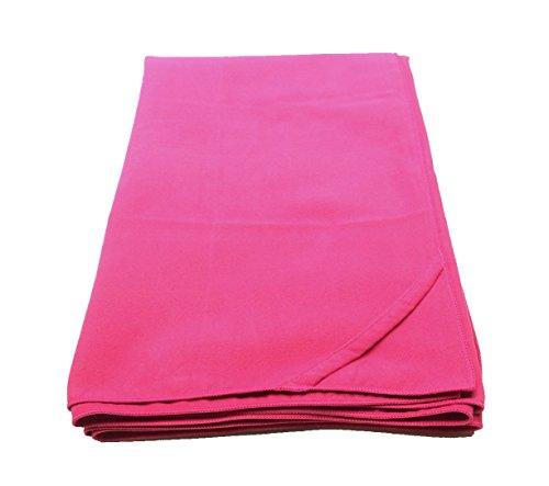 Proact Mikrofaser Handtuch 140cm x 70cm | Schnelltrocknend | Sporthandtuch | Reisehandtuch | Sauna Handtuch| (Pink)