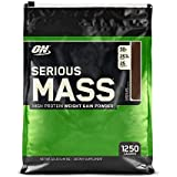 Optimum Nutrition Serious Mass Weight Gainer, Saveur Chocolat, 16 Portions, 5,45 kg