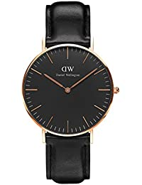 Daniel Wellington Classic Damen-Armbanduhr Analog Quarz Leder - DW00100139