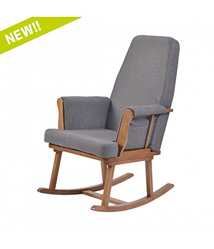 Kub Haldon Nursing Rocking Chair (Dark)  Kub Products Ltd