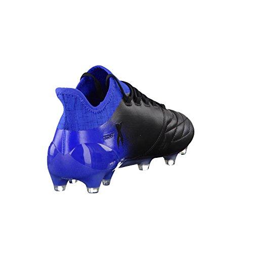 adidas X 16.1 Fg Leather, Chaussures de Football Homme Noir (Nero Negbas/rosimp/azul)