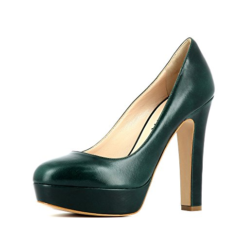 Evita Shoes Riccarda, Scarpe col tacco donna Verde scuro
