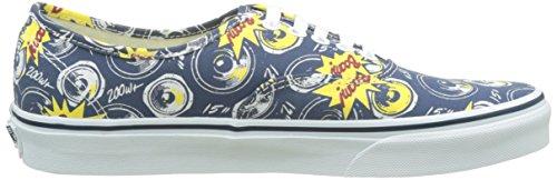 Vans Ua Authentic, Sneakers Basses Homme Bleu (Freshness Boom City/true White)