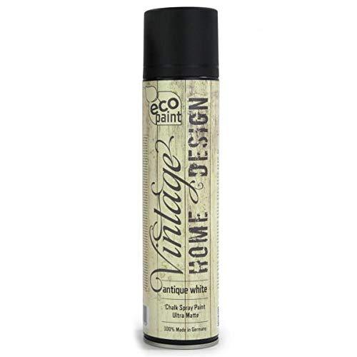 Vintage Kreide Spray antik weiß 400ml Kreidefarbe Chalk Paint Shabby Chic Landhaus Stil Vintage Look