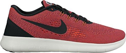 Nike Free Rn Scarpe da Ginnastica Rot (Hyper Orange/ocean Fog/wolf Grey/black)