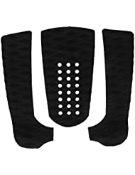 1 Set of 3pcs Surfboard Traction Tail Pads Surfing Surf Deck Grips - 5 Colors