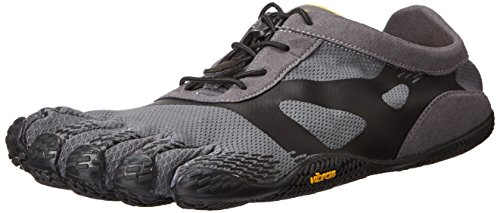 Vibram Five Fingers Kso Evo, Scarpe Sportive Outdoor Uomo, Grigio (Grey/Black), 41 EU