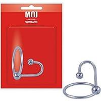 MOI Lock 'N Load Edelstahl Eichelring mit Spermastopper Durchmesser 25 mm