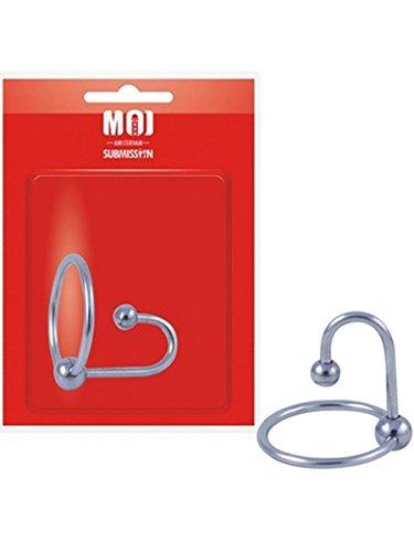 MOI Lock 'N Load Edelstahl Eichelring mit Spermastopper Durchmesser 30 mm