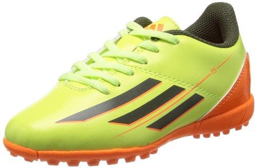 adidas F5 TRX TF J Junge Fußball-Trainer/Schuhe-Green-38.5