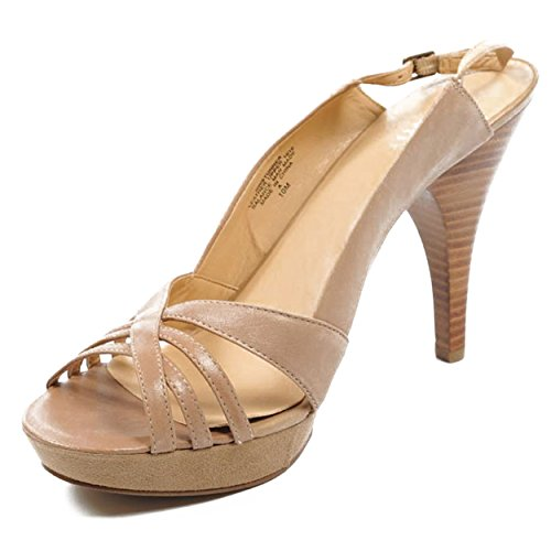 NINE WEST - Fionda Indietro Sandali Donna NWSTUNNER TAUPE Tacco: 10 cm Taupe