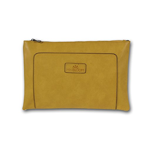 MIYA BLOOM 33x21x2 sac de soirée embrayage Sac Shina cm (LxHxP) en cuir libre
