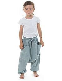 - Sarouel pantalon enfant coton leger Ilam -