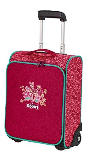 Scout 25510087700 Basic Kindertrolley II Koffer, 21 Liter, Rot