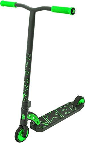 MADD Gear Unisex Jugend VX8 Pro Black Out Range Stuntscooter, grün/schwarz, One Size