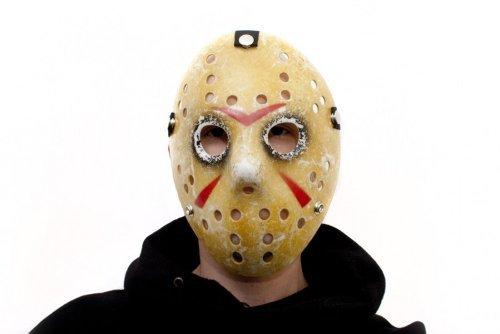 (Vintage Design Jason Ice-Hockey Maske Friday 13 Eishockey Hockeymaske)