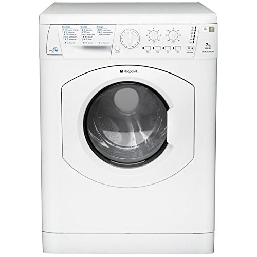 Hotpoint WDL520P 1200 spin washer dryer in white 16 Programmes B rated