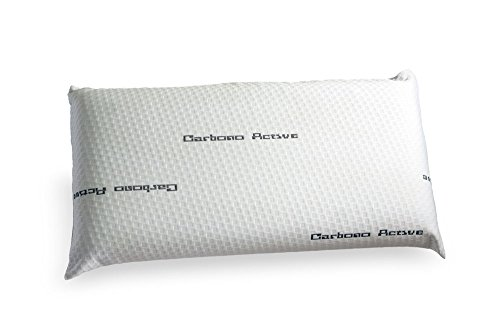 Preisvergleich Produktbild Olympus Sleep Visco Carbon Kissenbezug, aus Polycotton, schwarz, 70x 35x 12cm