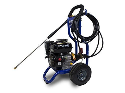 Hyundai HNHPT206B-A2 High Pressure Cleaner HNHPT206B 208CC NETTOYEUR HAUTE-PRESSION THERMIQUE 210 BARS, Bleu