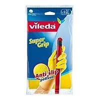 Vileda Super Grip Durable Reusable Gloves Large Size