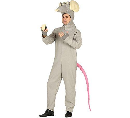 Imagen de disfraz de rata gris para hombre