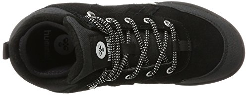 hummel Nordic Roots Hike, Sneakers Hautes Mixte Adulte Noir (Black)