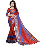 Saree(vrati Fashion Saree For Women Party Wear Half Multi Colour Printed Sarees Offer Designer Below 500 Rupees Latest Design Under 300 Combo Art Silk New Collection 2018 In Latest With Designer Blouse Beautiful For Women Party Wear Sadi Offer Sarees Coll