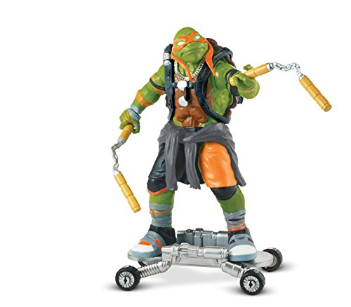 "Image of Teenage Mutant Ninja Turtles ""Mikey"" Movie 2 Action Figure"