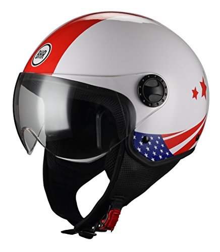 BHR 33361 Casco Moto Demi-Jet Linea One 801