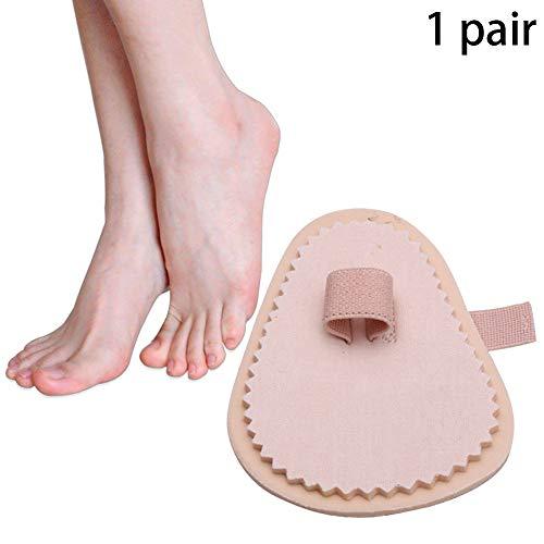 Switty 1 Paar Hammer Toe Straightener Joint Realign Kissen Klammer Bent Toe Separation Toe Schmerzlinderung Pad Alignment Corrector Wrap Für Sehnen, gebrochene Zehen Chirurgie Fußpflege -