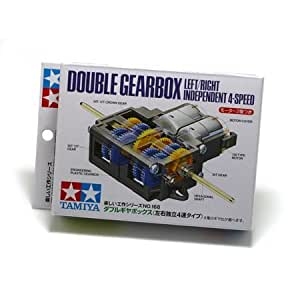 Tamiya 70168 Double Gearbox L/R Independ 4-Speed by Tamiya America, Inc TOY (English Manual)