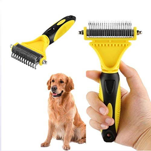 DOG BRUSH Cepillo De Depilación Mascotas Cepillo