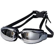aoopoo lunettes de natation myopie adulte lunettes de piscine homme femme  antibue tanche swimming goggles with lunette de natation decathlon dac97d80b882