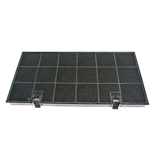 Filtre charbon rectangulaire fat150 hotte whirlpool akr699