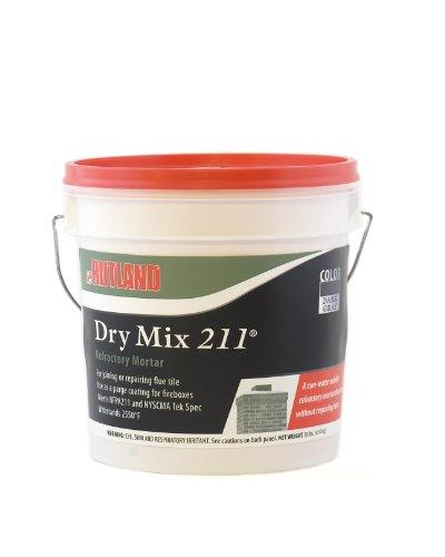 rutland-products-dry-mix-211r-refractory-mortar-tub-10-lbs-dark-gray