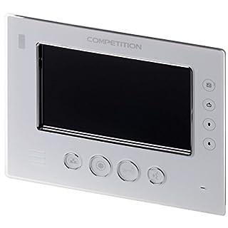 Anthell Electronics AE 7'''' Innenstation white, MT812C-CK2 S1 - with Bildspeicherfunktion (100 Fotos) and Intercom Funktion to anderen Inneneinheiten, incl. Hutschienentrafo to Versorgung der Innen & Ausseneinheit, to AE SAC Farb-Videotürsprechanlagen