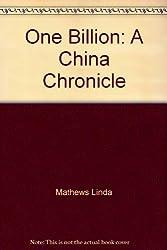 One Billion: A China Chronicle