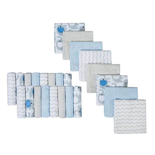 Baby Waschlappen Set Baby Badetucher,große Geschenke für Neugeborene,24 Stuck